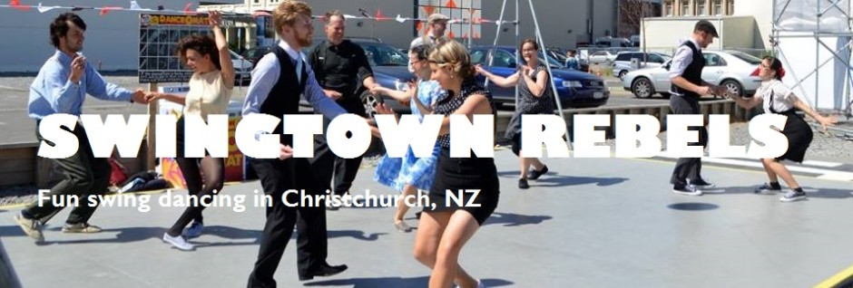 Swing dancing in Christchurch!