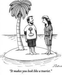 desert island clothes